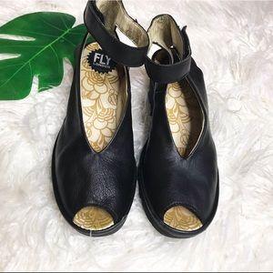 Fly London Yala Wedge Sandals